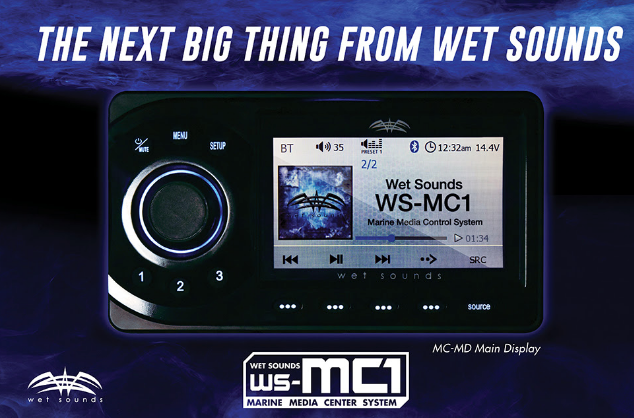 marine radio unit wetsounds